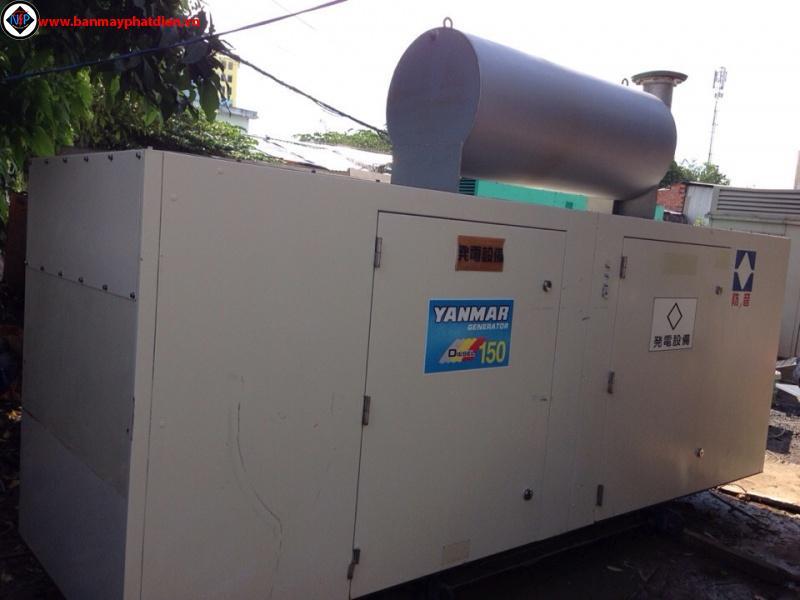 Long an - Sửa chữa máy phát điện 150kva yanmar uy tín