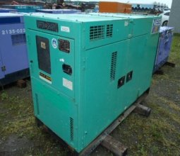 Cho thuê máy phát điện 30kva hino nhập khẩu - Ninh Bình