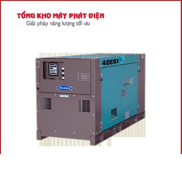 Máy phát điện Denyo 33kVA 1 pha
