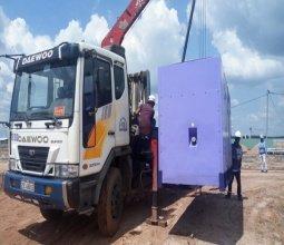 Lắp đặt máy phát điện 300kva cho khu công nghiệp Bàu Bàng