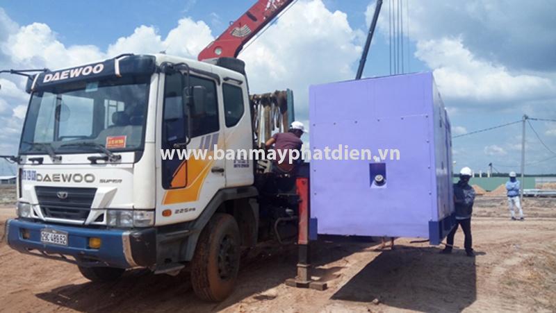 Lắp đặt máy phát điện 300kva cho khu công nghiệp Bàu Bàng   0