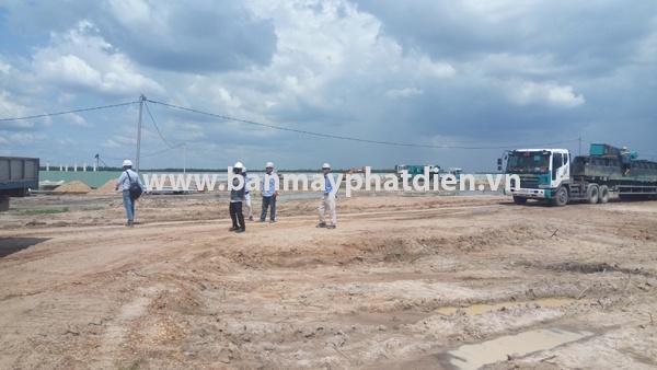Lắp đặt máy phát điện 300kva cho khu công nghiệp Bàu Bàng   1