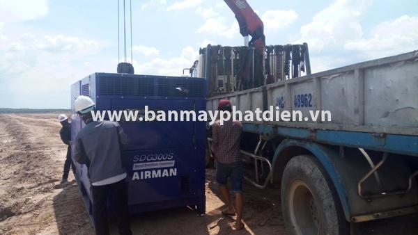 Lắp đặt máy phát điện 300kva cho khu công nghiệp Bàu Bàng | 3